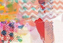 Textile design ( ^◡^)っ✂
