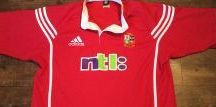 British & Irish Lions - Classic Rugby Shirts / British & Irish Lions Rugby Union shirts on website www.classicrugbyshirts.com