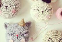 crochet/knit   pillows, blankets
