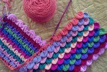 crochet/knit   patterns, flowers, aplications