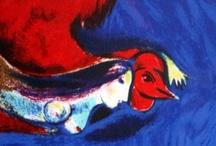 Artist: Chagall / by Jean Elizabeth Ward