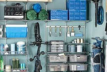 Garage ideas / by Caroline Quirk Cestero