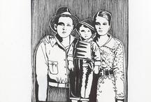 Art: Ink, Pencil, Chalk, Etc.  / by Jean Elizabeth Ward