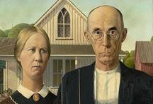 American Gothic Parodies / by Jean Elizabeth Ward