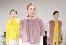 Trends & Styling / Our inspiration. AW14 -  SS14 - Pastels - crisp linen - powder pink & blue  Colour Pop  Monochrome