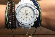 Bracelets, Watches and Such! / Jewlery  / by Gisele Hawkins