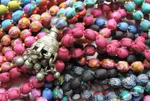Jewelled Buddha SS16 Collection - Sari Bead Necklaces /