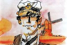 BD // Hugo Pratt / Corto Maltese / Hugo Eugenio Pratt (June 15, 1927 – August 20, 1995) was an Italian comic book creator who was known for combining strong storytelling with extensive historical research on works such as Corto Maltese. He was inducted into the Will Eisner Award Hall of Fame in 2005. In 1946 Hugo Pratt became part of the so-called Group of Venice with Fernando Carcupino, Dino Battaglia and Damiano Damiani.