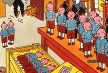 BD // Tintin /pastiche/parody/hommage/spinn-off/etc.