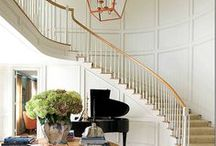 inspire: entries / Beautiful entryways: front doors, mud rooms, stairwells, and more. / by Maison de Pax
