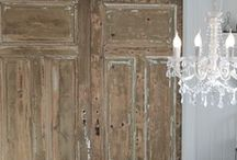 inspire: old doors / creative and gorgeous ways to reuse or upcycle old doors… / by Maison de Pax