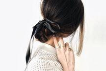 「 cut style 」 / hair cuts _ hair style _ braids _ tips _ diy _ natural _waves _ bun _ bangs _ brunette _ blonde