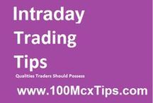 Intraday Tips / Intraday traders find it exciting and profitable to buy and sell stocks on daily basis. Take a Free Trial of Our Intraday trading tips at 100McxTips.com.