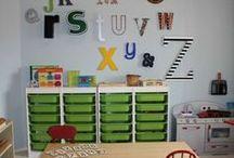 cuarto de juegos / Habitaciones infantiles con inspiración en la filosofia Montessori que favorece el aprendizaje a partir del descubrimiento #educaldia