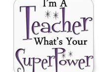 leraar/ teacher