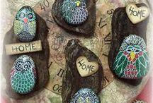 rock painting / pietre dipinte