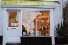 Sweetlime Studio / Our new store in St. Ives, Cornwall