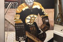 Gerry cheevers Boston bruins