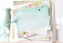 card inspiration / handmade cards / by Audrey Wagner