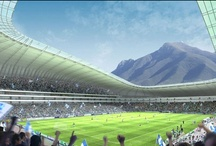 Goooaaal! - Sports Arenas / Food service design at sports arenas.