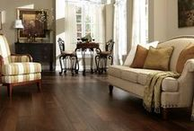 Handsome Hardwood / There's nothing like a hardwood floor for natural beauty, warmth, and ease of cleaning. Its distinctive grains and swirling burnished figures add a classic touch throughout your home. Hardwood's rich character never goes out of style.
