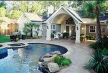 Patio Covers / Patio Covers and Porch additions that Wood Crafters has designed and built in the Houston, Texas area.