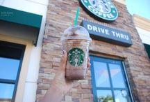 Starbucks / Awesome drinks from Starbucks  / by Kaitlyn DeHart