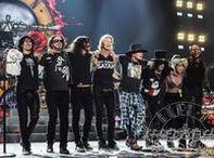 Guns N' Roses / #GunsNRoses #AxlRose #GNR #GunsandRoses #Slash #DuffMckagan #Metal #Izzy #StevenAdler