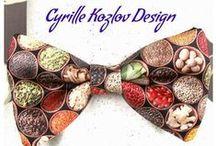 Галстуки, бабочки / Эксклюзивные галстуки всех видов и форм от Cyrille Kozlov Design. Авторский дизайн, исключительное качество материалов и исполнения. Выполнение заказов на индивидуальный пошив аксессуаров и одежды.