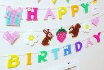 B I R T H D A Y · P A R T Y / All the decoration and inspiration for your kids birthday party