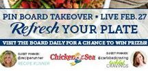 Refresh Your Plate / Visit this board February 27-March 3 for healthy, delicious recipe ideas to refresh your plate! Two #EatMoreSeafood prize packs will be given to participants that engage the most on this board and the prize question pin.