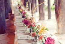 Tischdeko HOCHZEIT / Tolle Inspirationen für die #Tischdeko zur #Hochzeit! Einmalig, individuell und unvergesslich!