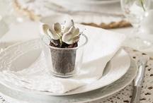 Tischdeko KONFIRMATION / Zur #Konfirmation gilt es eine schöne und passende #Tischdeko zu gestalten. Hier seht ihr, wie!