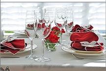 Tischdeko ROMANTISCH / Den Partner überraschen mit einer romantischen #Tischdeko? Hier zeigen, wie welche Möglichkeiten es gibt!