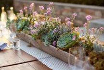 Tischdeko GARTEN / #Tischdeko für den Garten