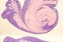 Ebru For You / Marbled Gift Cards by www.ebruforyou.com