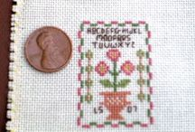 Lisa loves miniature stitching! / by LisaSh