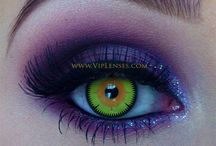 CONTACT LENS WILD LOOKING / VERY STUNNING / by Jane Knight