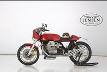 Moto Guzzi Cafe Racer by Doc Jensen / Doc Jensen Guzzi - Classic and modern Moto Guzzi Customs Made in  Germany | www.doc-jensen.de