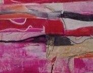 Lisa Ormsby Artwork / Mixed Medium on Canvas