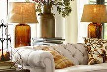 Home interior Decorating ideas / INTERIOR DESIGN / by anita gibson