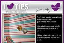 I Love Tips for your Home by Goodrich  / Goodrich Global provide you with some tips to maintain your beautiful homes!