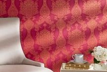 Let Your WALLS do the Talking / From metallics hues, textured or intricately printed vinyl wallcoverings to rich textiles, our range of wallcoverings will give you the flexibility to balance aesthetic preference with functional benefits. You can be sure that your home will stay beautiful for years to come.