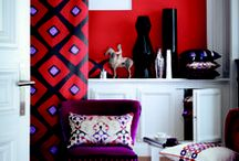 For a Geometric Style: Unconventional patterns in bold shapes and solid colours / Geometric...Unconventional patterns in bold shapes and solid colours