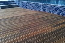 Eco-Friendly Flooring / They are... - Environmentally Friendly - Core Material: Eco-Core - Resandable: 1 time - Green label - Certified safe level of formaldehyde emission, safe for use