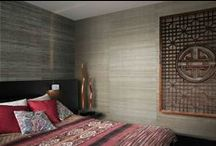 Honeymoon to Sumatra / Visit Sumatra in Indonesia and escape into the land filled with romantic dreams.  Or adorn your homes with wallcoverings inspired by Sumatra and feel a piece of the beautiful island at home. Wallcovering from Sumatra, Omexco