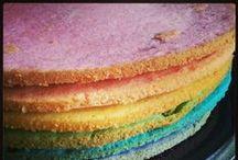 Lion King Rainbow Cake for Iris's 3 Years Birthday party