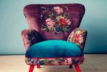 We Have A Chair Fetish! / We do love to sit down. A comfy chair, chaise or sofa is heavenly. Even better if it looks FABULOUS too!