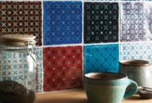 Pretty Patchwork / Patchwork tiles are so lovely and there are plenty featured here... From our own collection & beyond.
