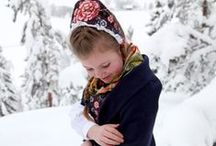 The Norwegian bunad. / Pictures of the beautiful Norwegian national costumes.